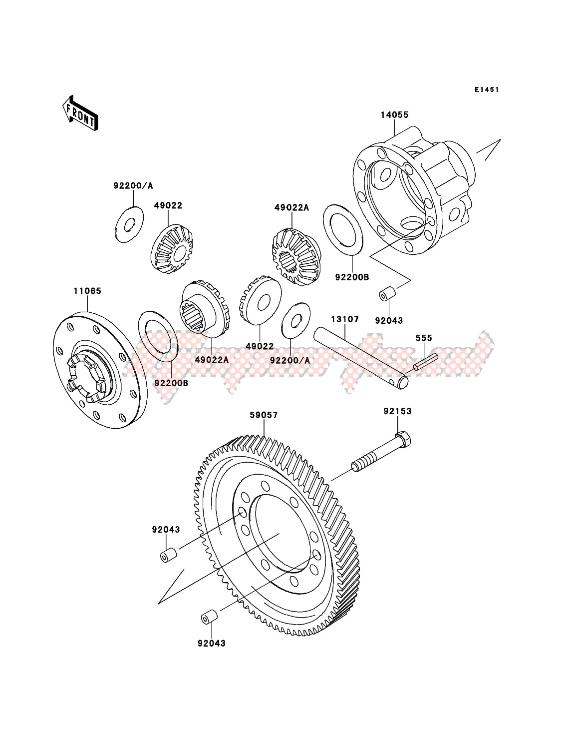 Engine-Differential