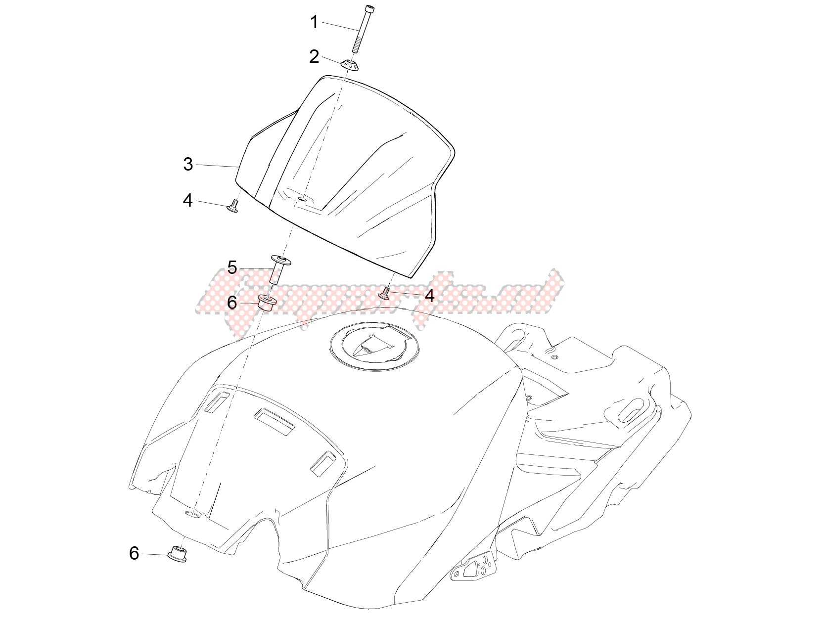 Body-Tank cover