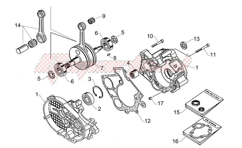 Crank-case-Connect.rod group image