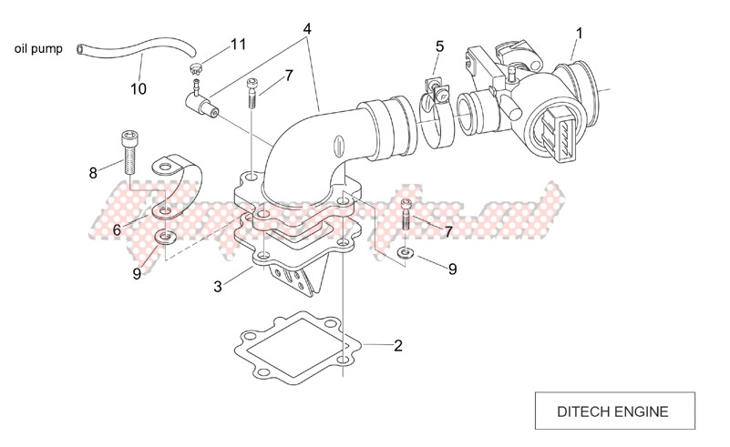Engine-Throttle body (Ditech)