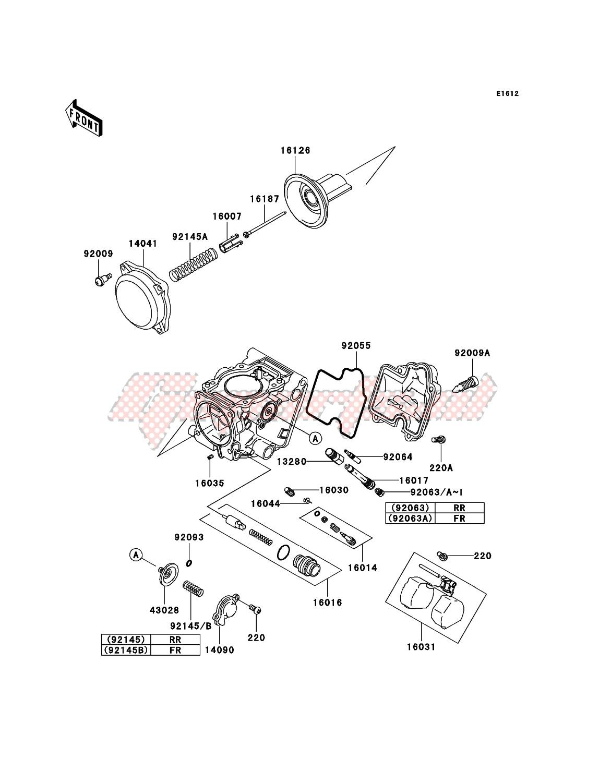 Carburetor Parts image