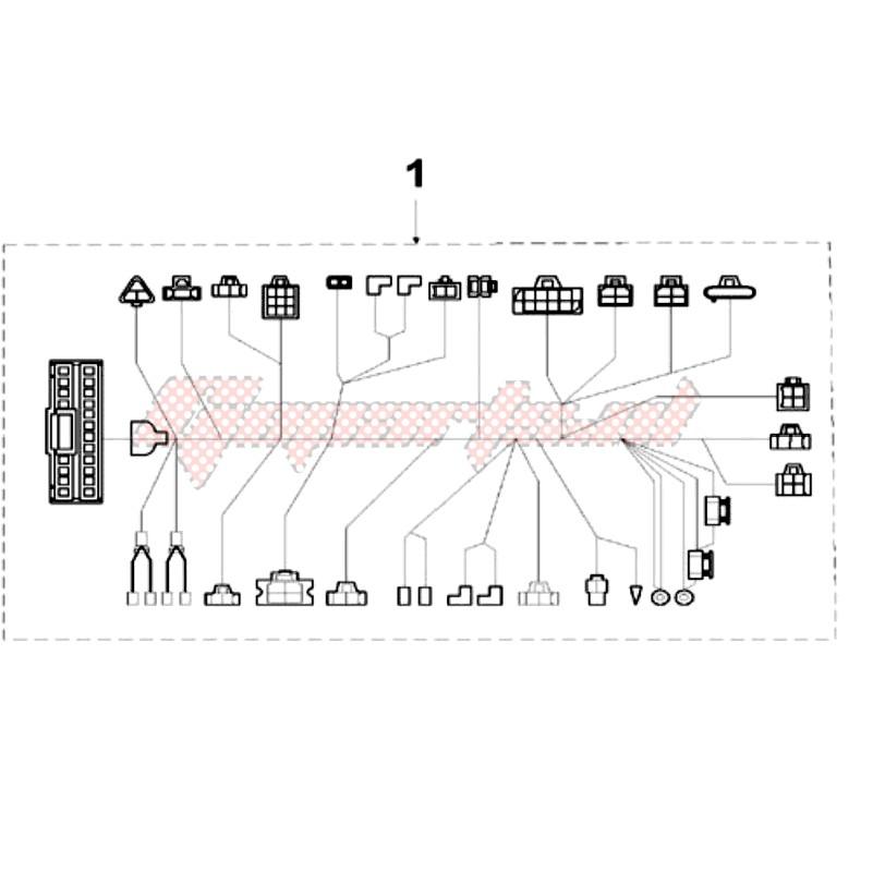 [QNCB_7524]  OEM WIRING FOR CDI KOKUSAN - (Peugeot [Scooter] VIVA 3 L 50 2T / 2015) |  Goparts | Viva 50cc Wiring Diagram |  | Goparts