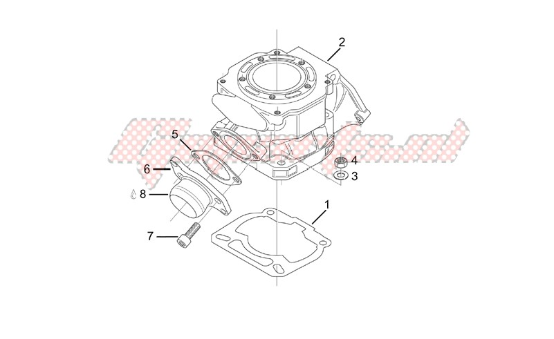 Engine-Cylinder - Exhaust valve