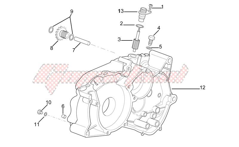 Left crankcase image