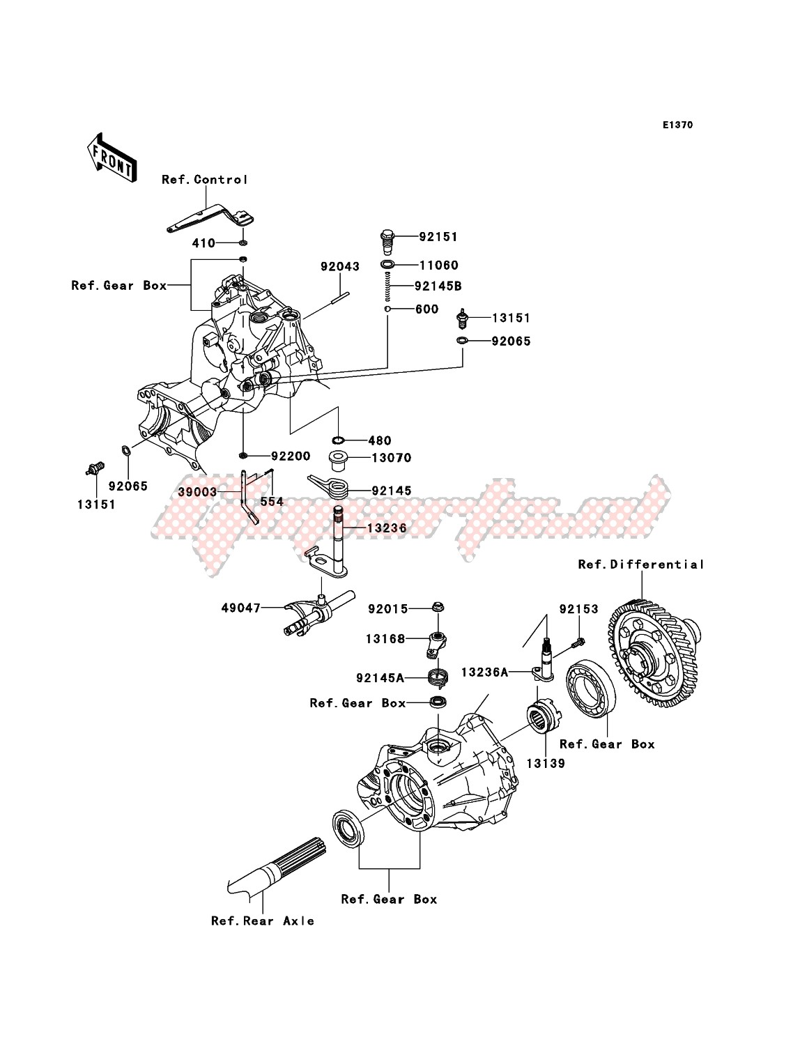 Gear Change Mechanism image
