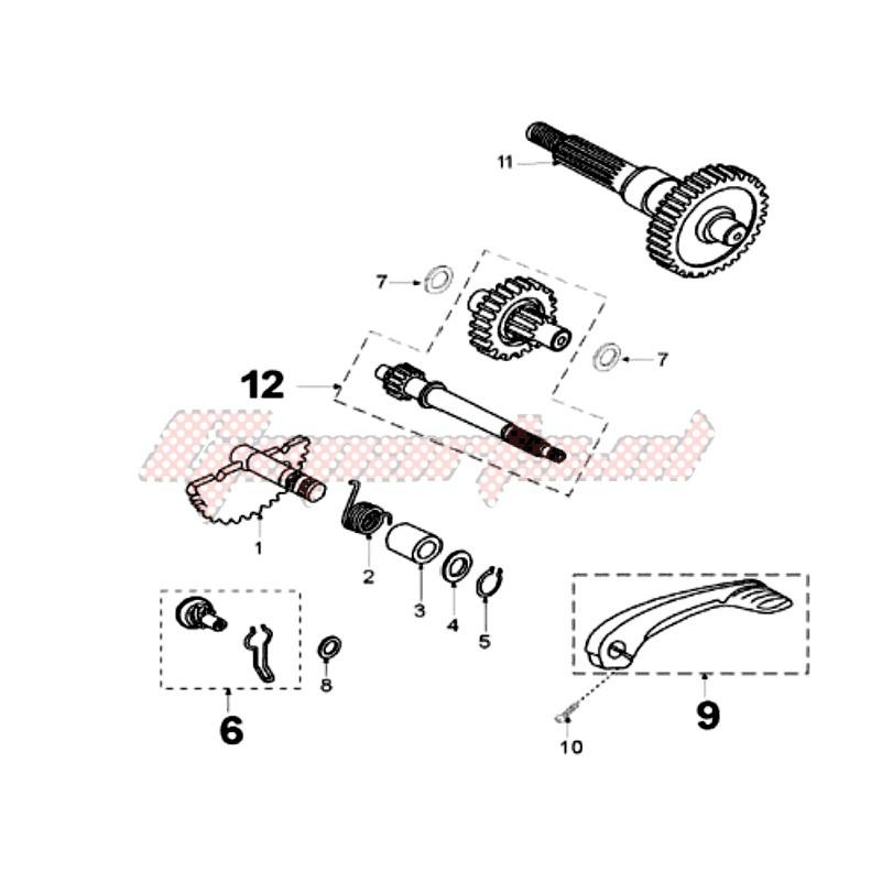 DRIVE SHAFTS / KICKSTARTER blueprint
