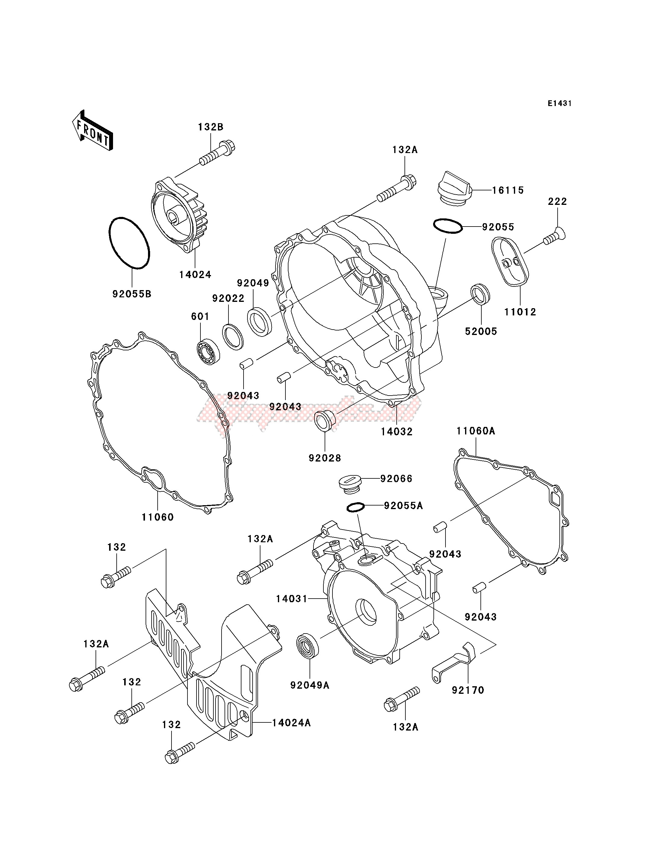ENGINE COVER-- S- - image