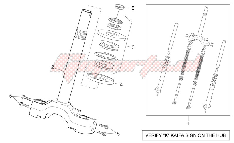Front fork - Stem base image