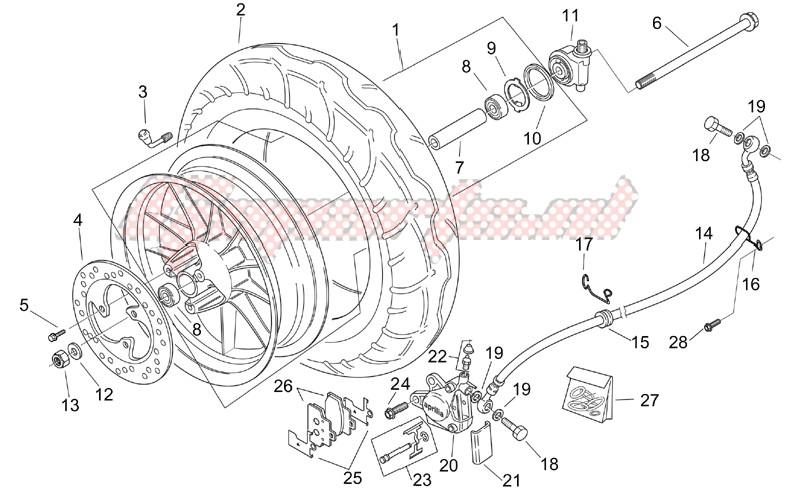 Front wheel - CUSTOM image