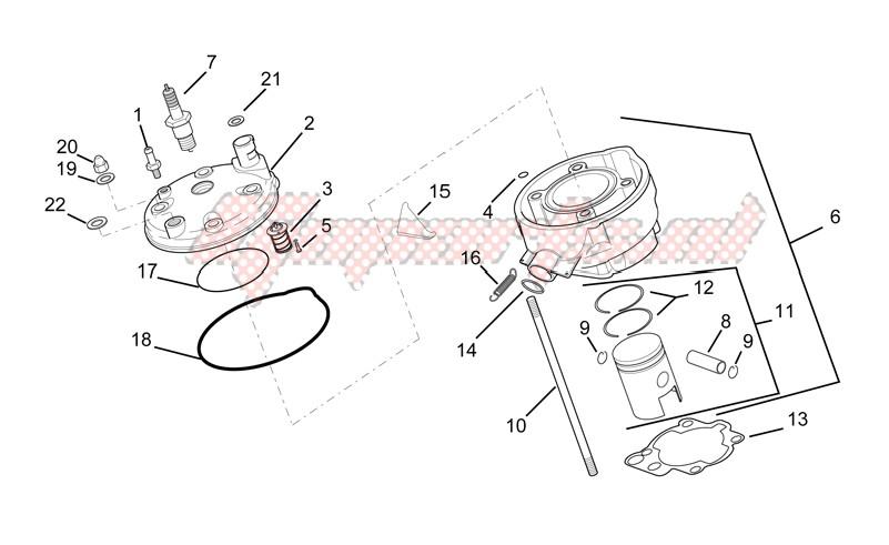 Head - piston image