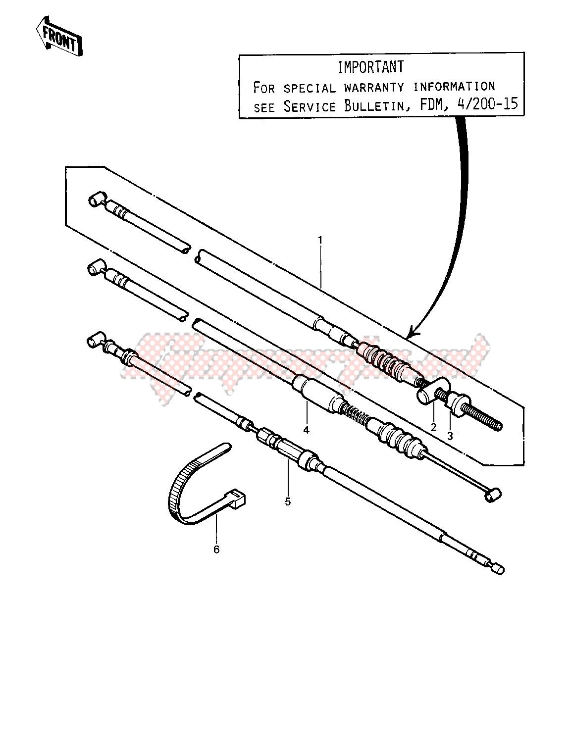 CABLES -- 81-82 KLT200-A1_A2_A3- - image