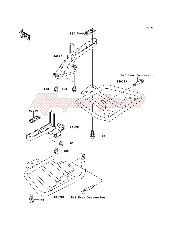Footrests image