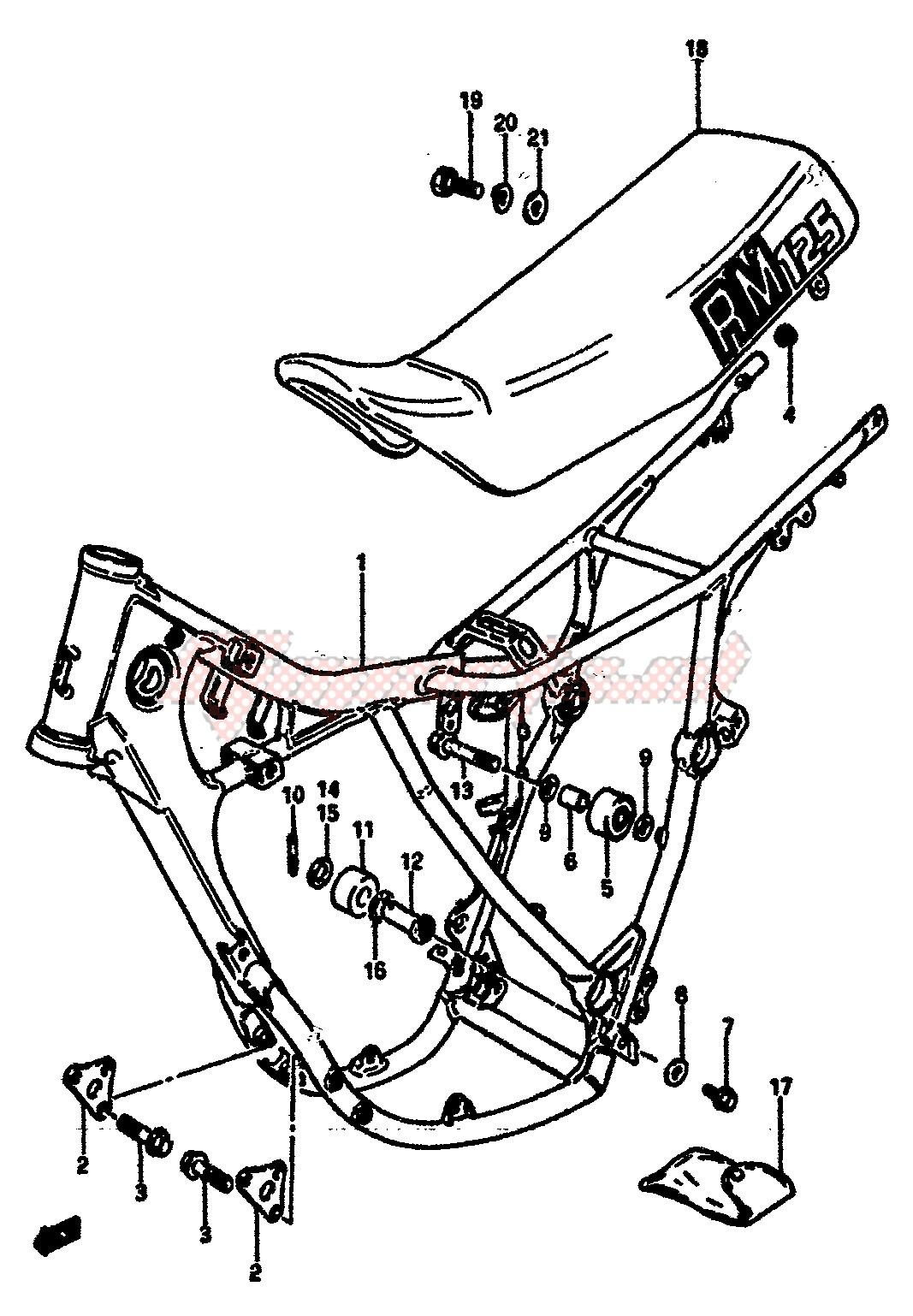 FRAME-SEAT blueprint