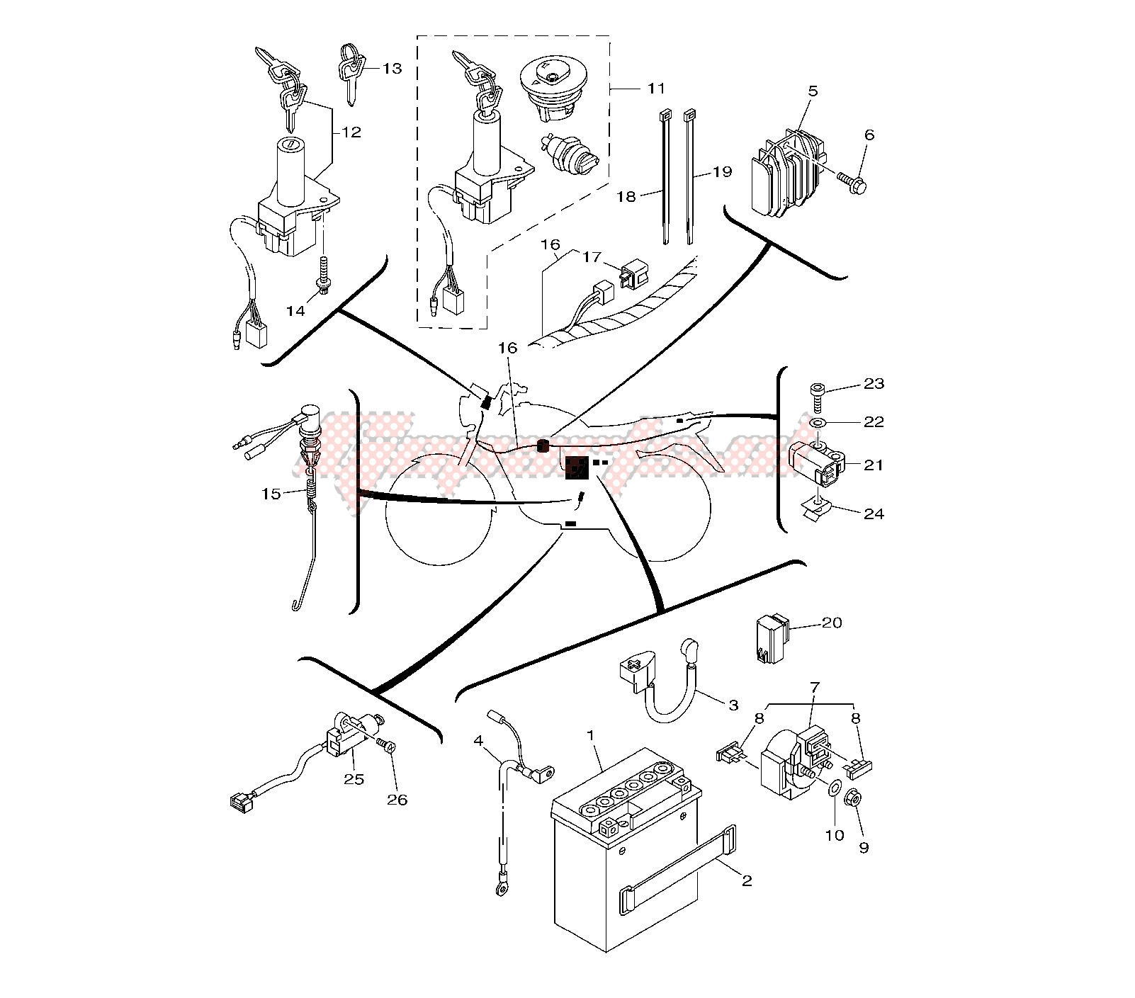 Clutch Diagram Printable Wiring Diagram Schematic Harness On Yamaha
