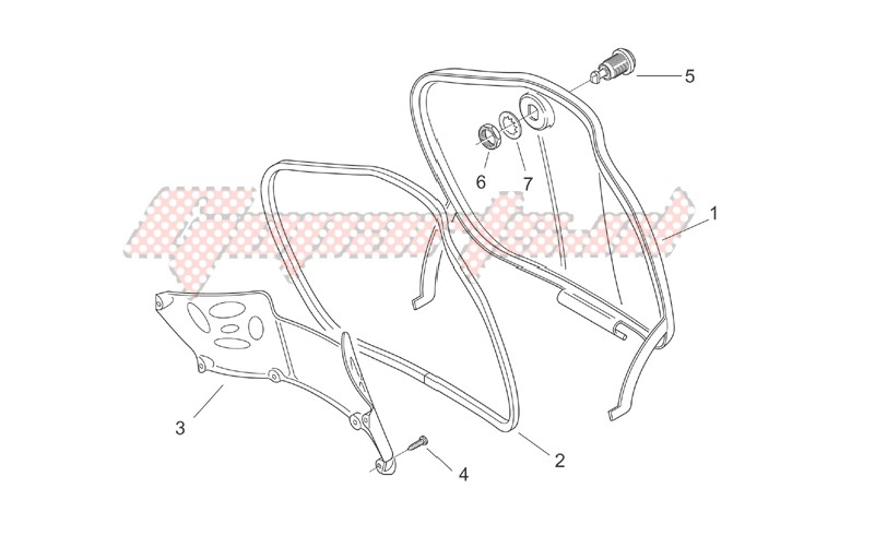 Central body I - Glove comp.door image