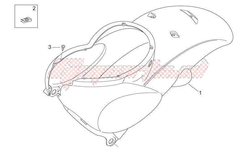 Rear body I - Rear fairing image