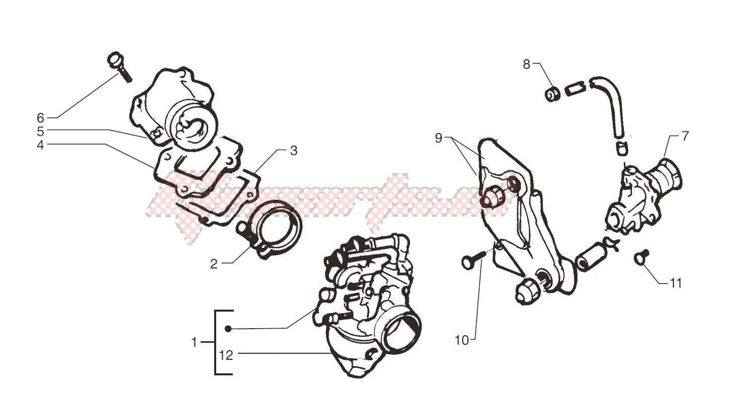 Oil pump - Carburettor image
