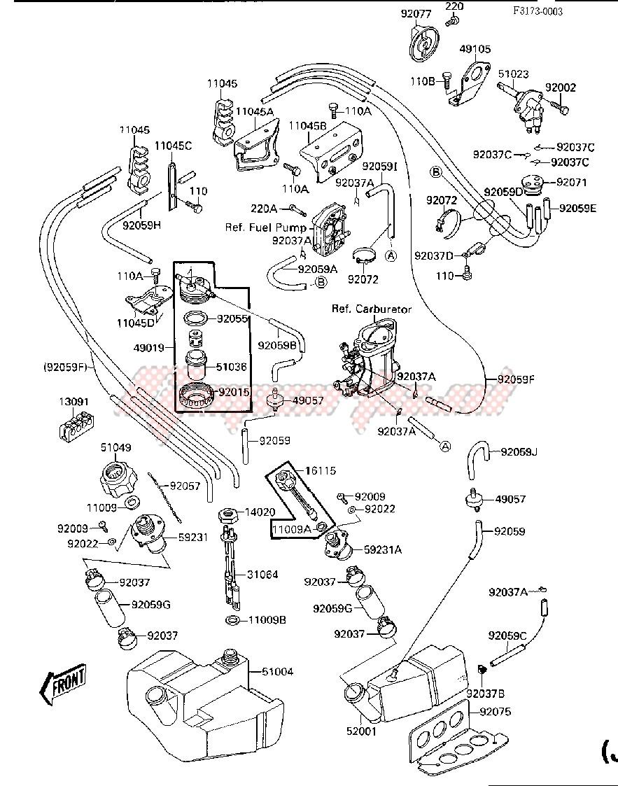 FUEL TANK_OIL TANK -- JF650-A2- - image