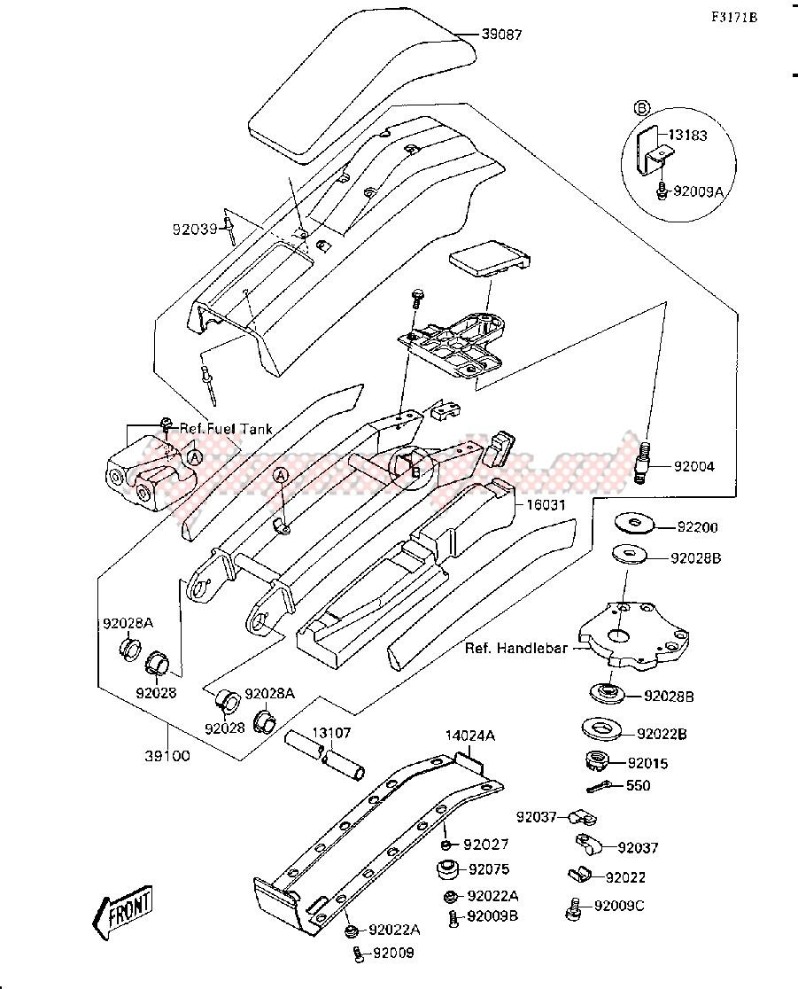 HANDLE POLE-- JS300-A5- - image