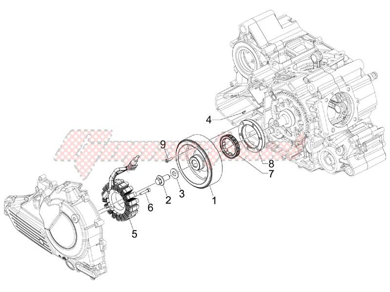 Flywheel magneto image