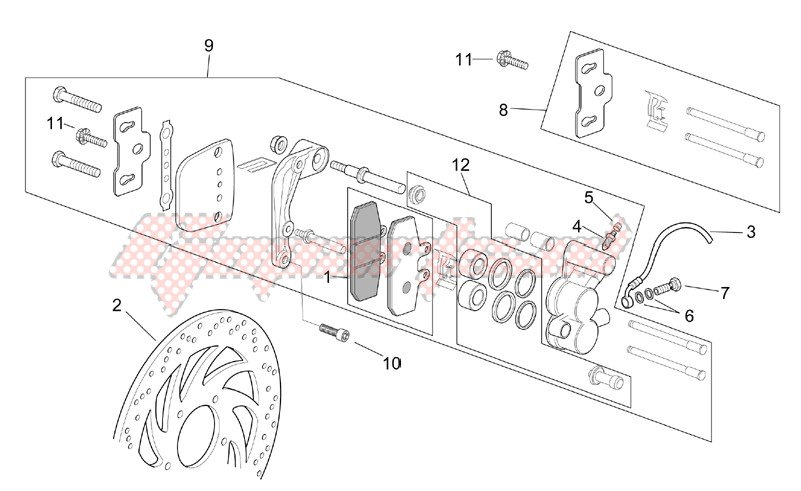 Front caliper image