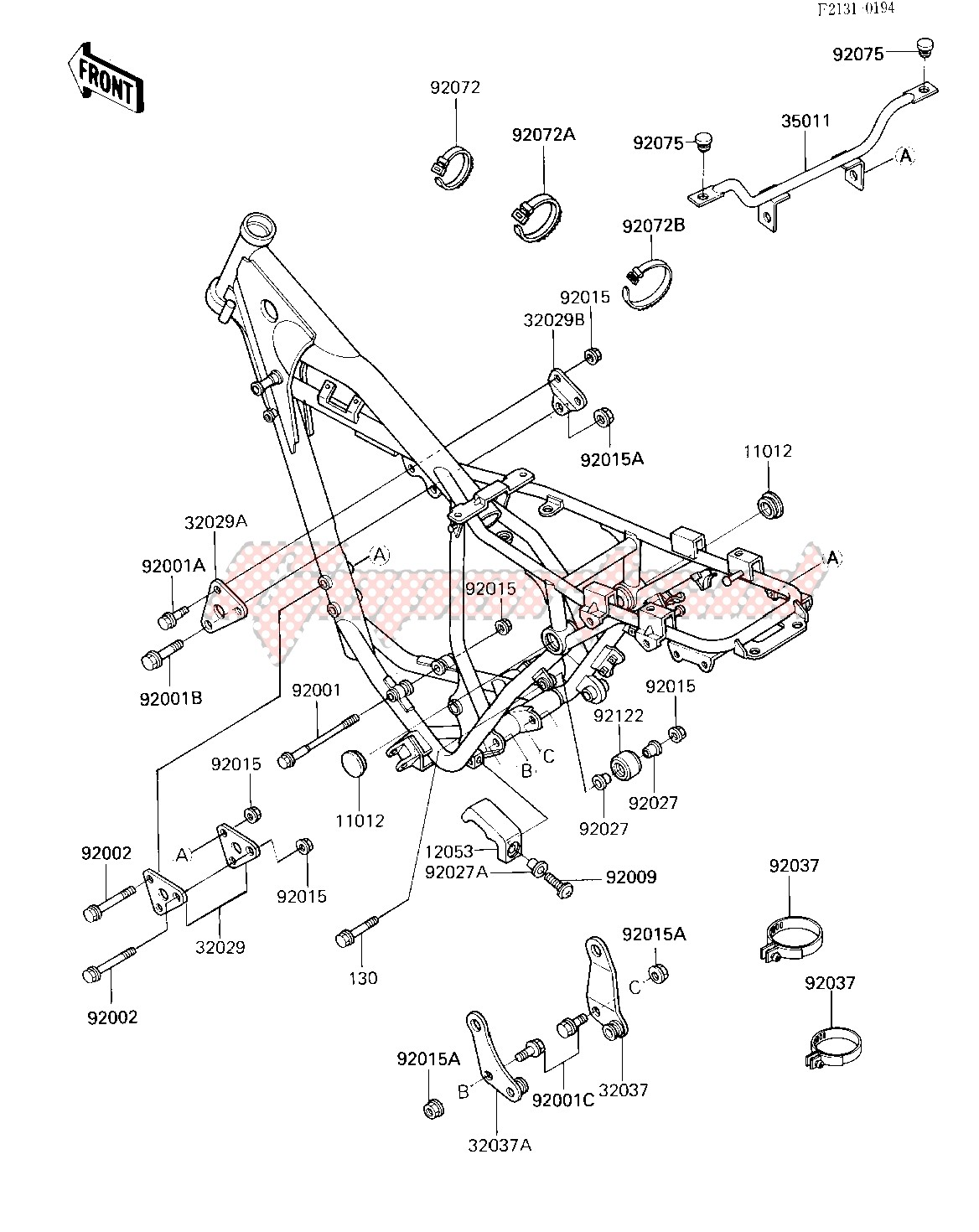 FRAME FITTINGS -- 85 A2- - image