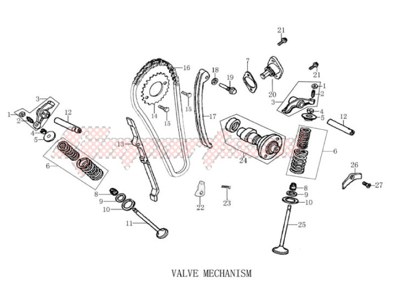 Engine-Valve - camshaft