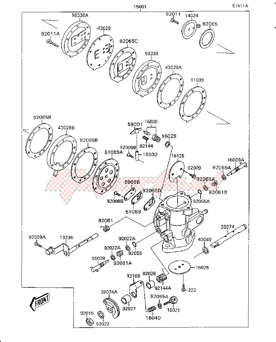 CARBURETOR -- JS300AE022806&NNAMI.- - image