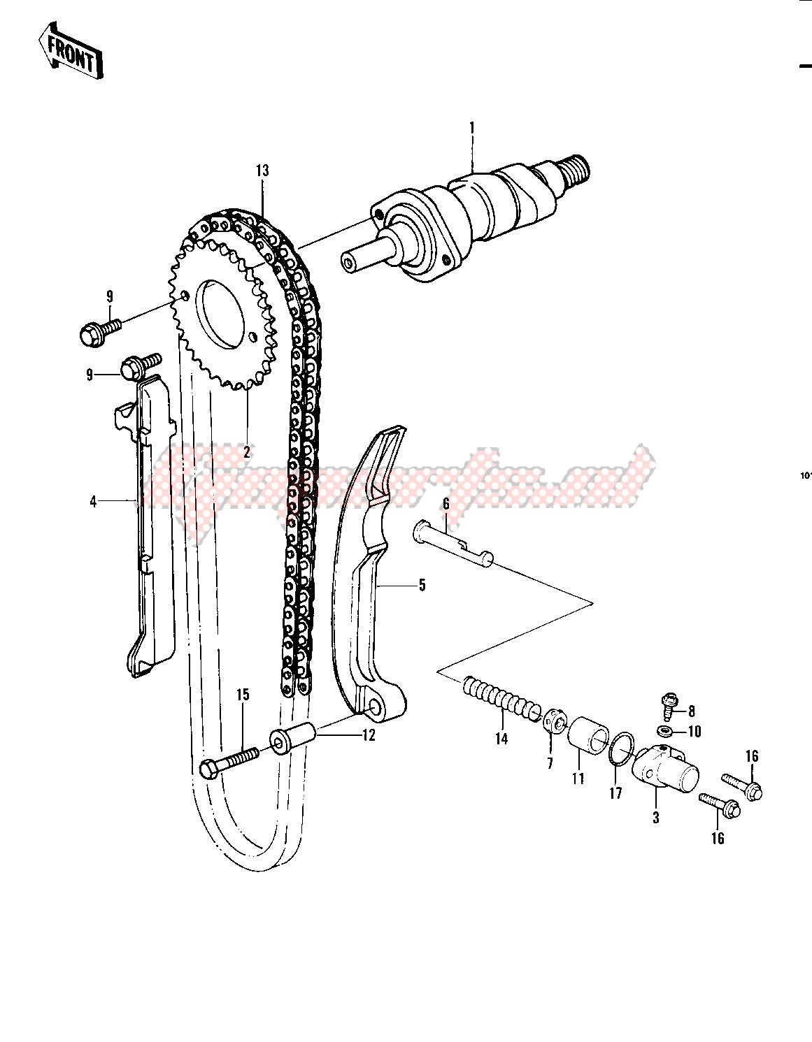 CAMSHAFT_CHAIN_TENSIONER -- 82 A1- - image