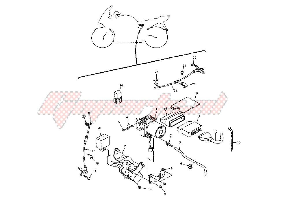 ANTI LOCK BRAKE SYSTEM blueprint
