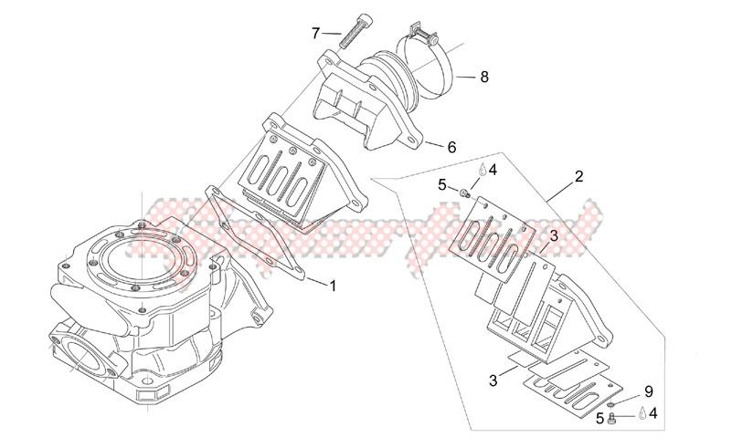 Carburettor flange image
