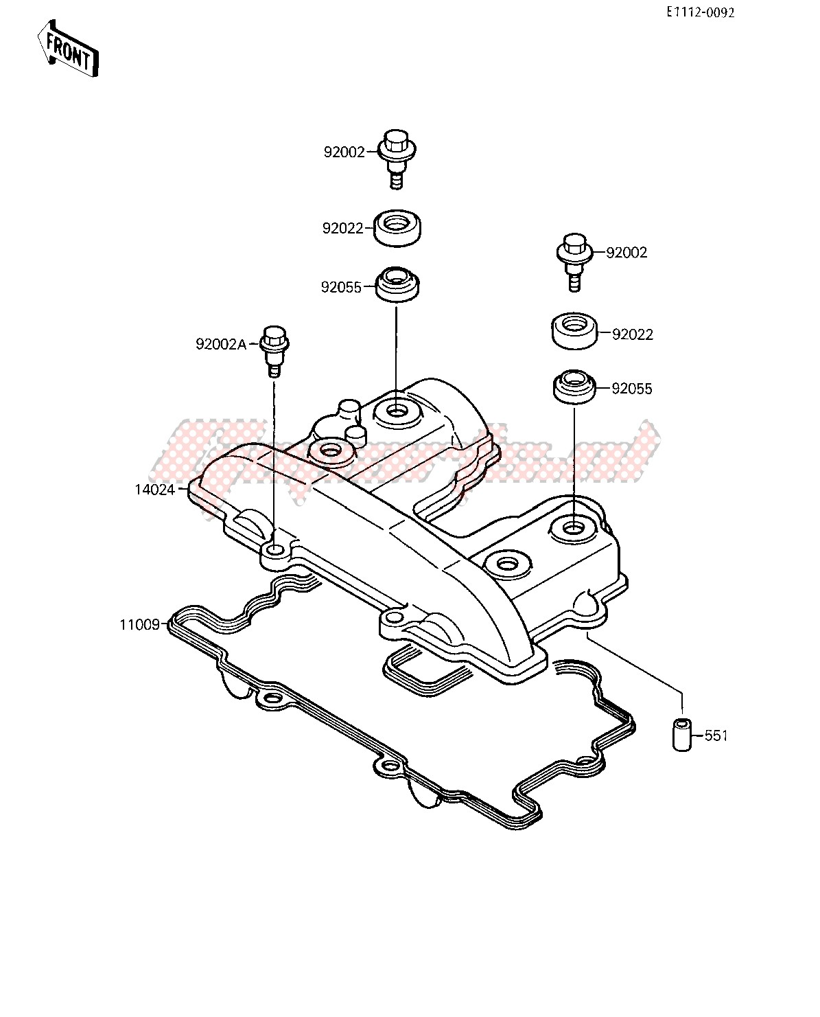 CYLINDER HEAD COVER image