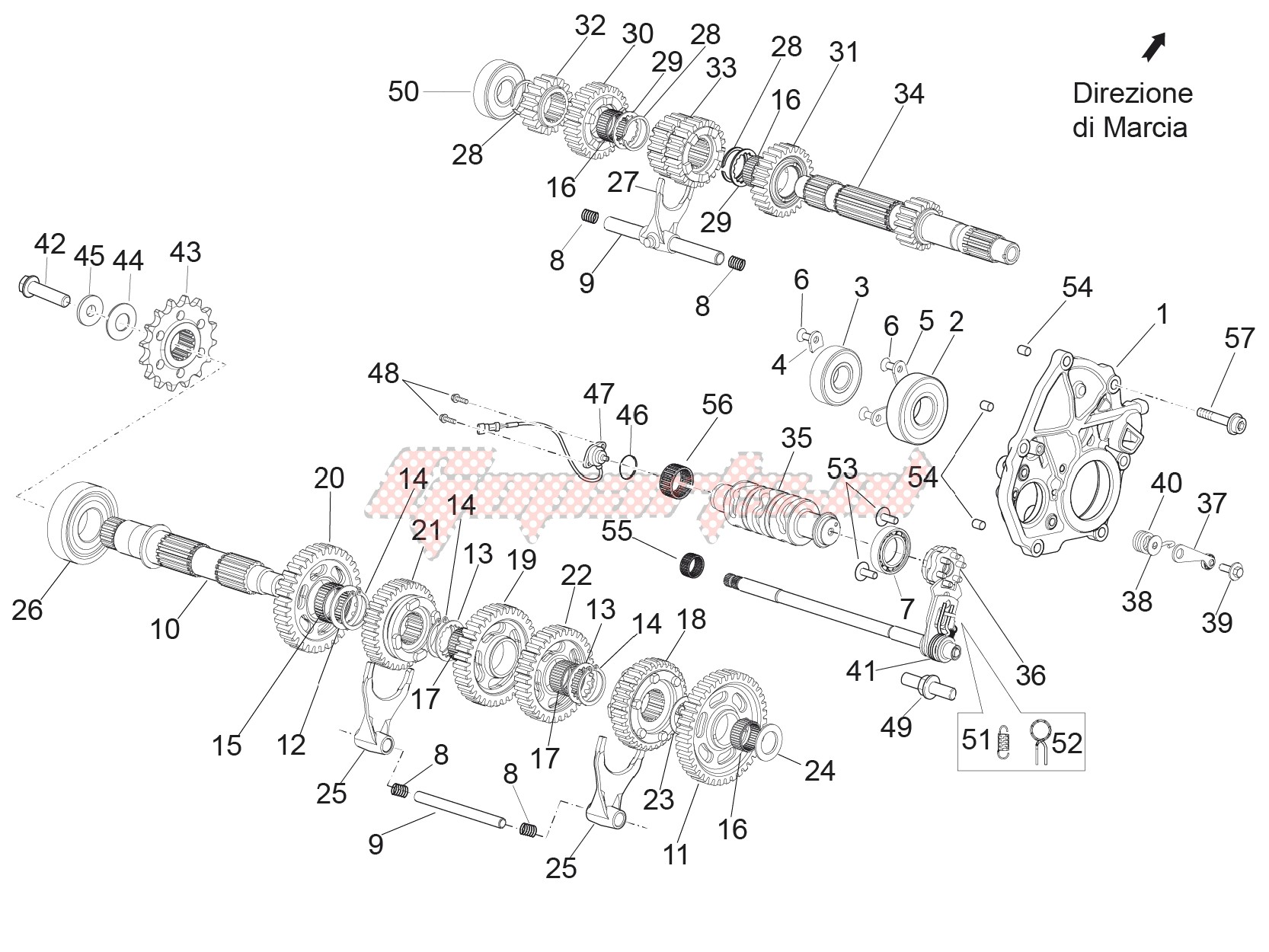 Gear box - Gear assembly image
