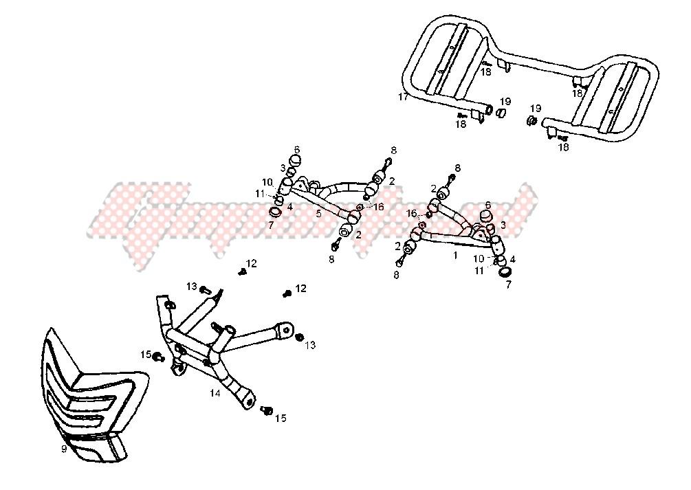 FRONT BUMPER CARRIER image