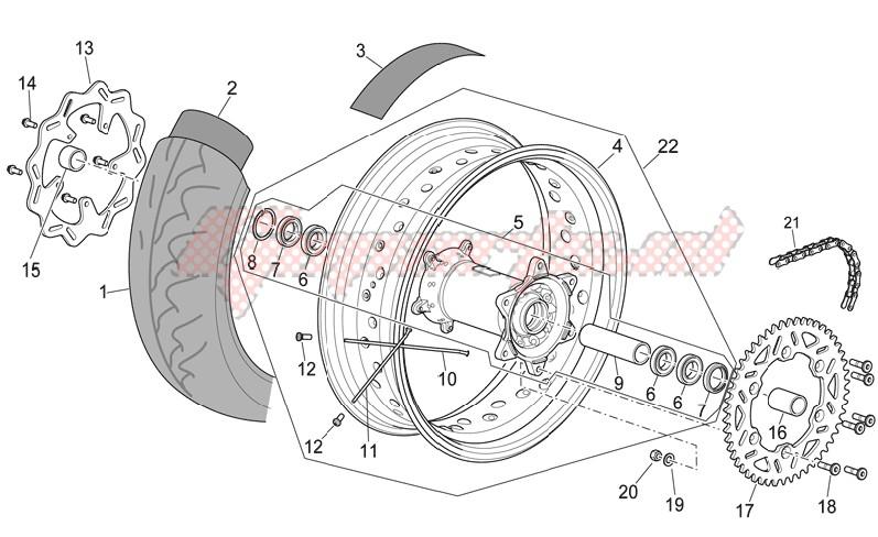 Rear wheel II image