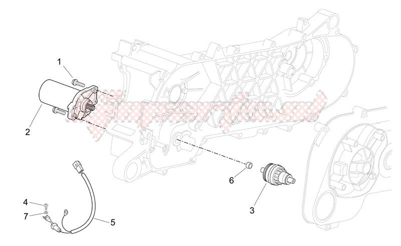 Starter motor image