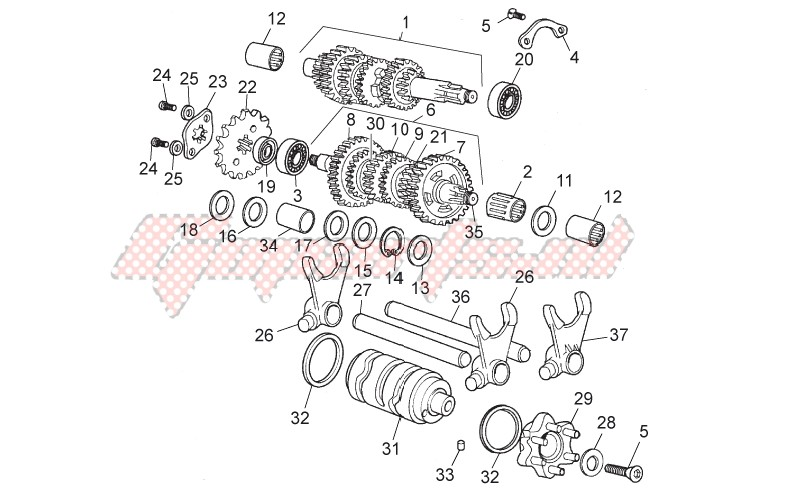 Engine-Gear box