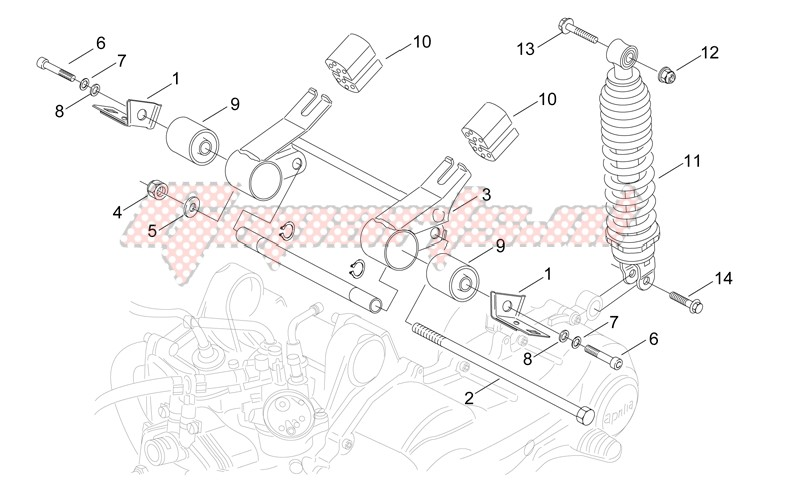 Connecting rod and Shock absorber image