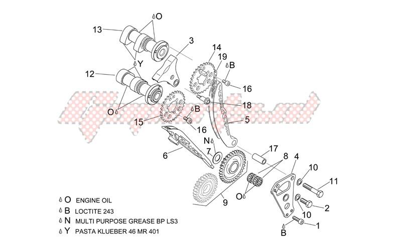 Front cylinder timing system image