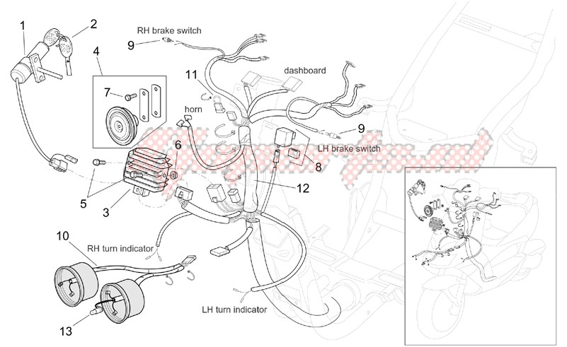 Frame-Electrical system I