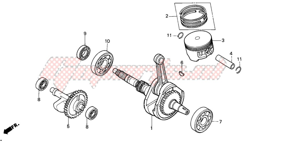 -CRANKSHAFT/PISTON