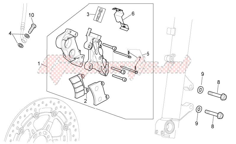 Front brake caliper I image