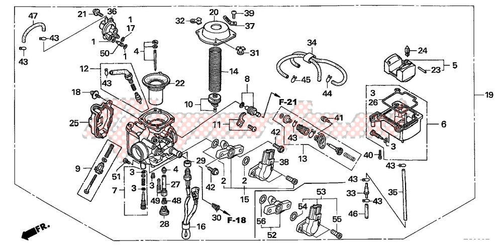 blueprint CARBURETOR