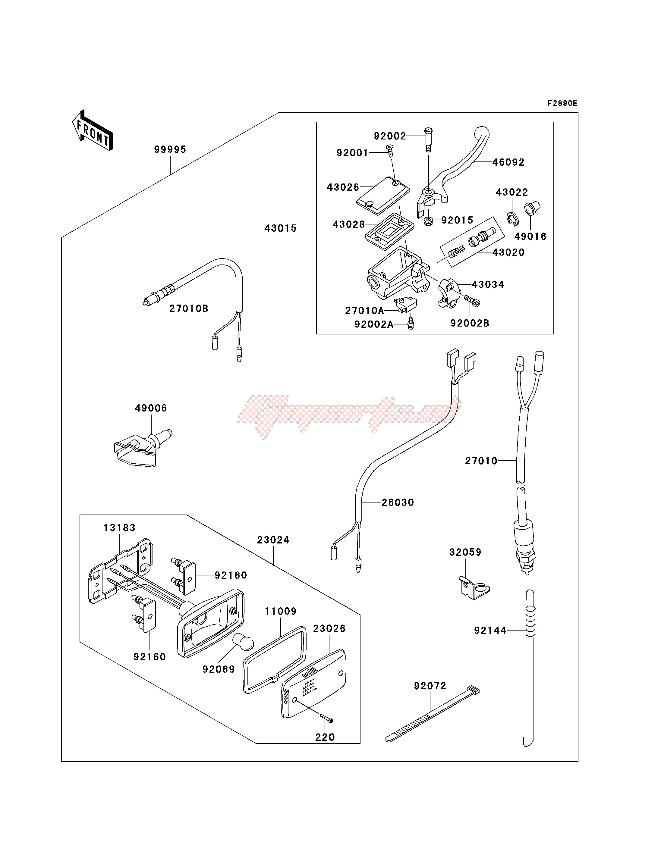 Accessories-OPTIONAL PARTS -- BRAKE SWITCH- -