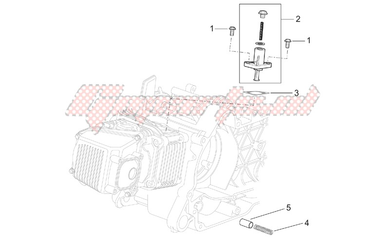 Chain tensioner image