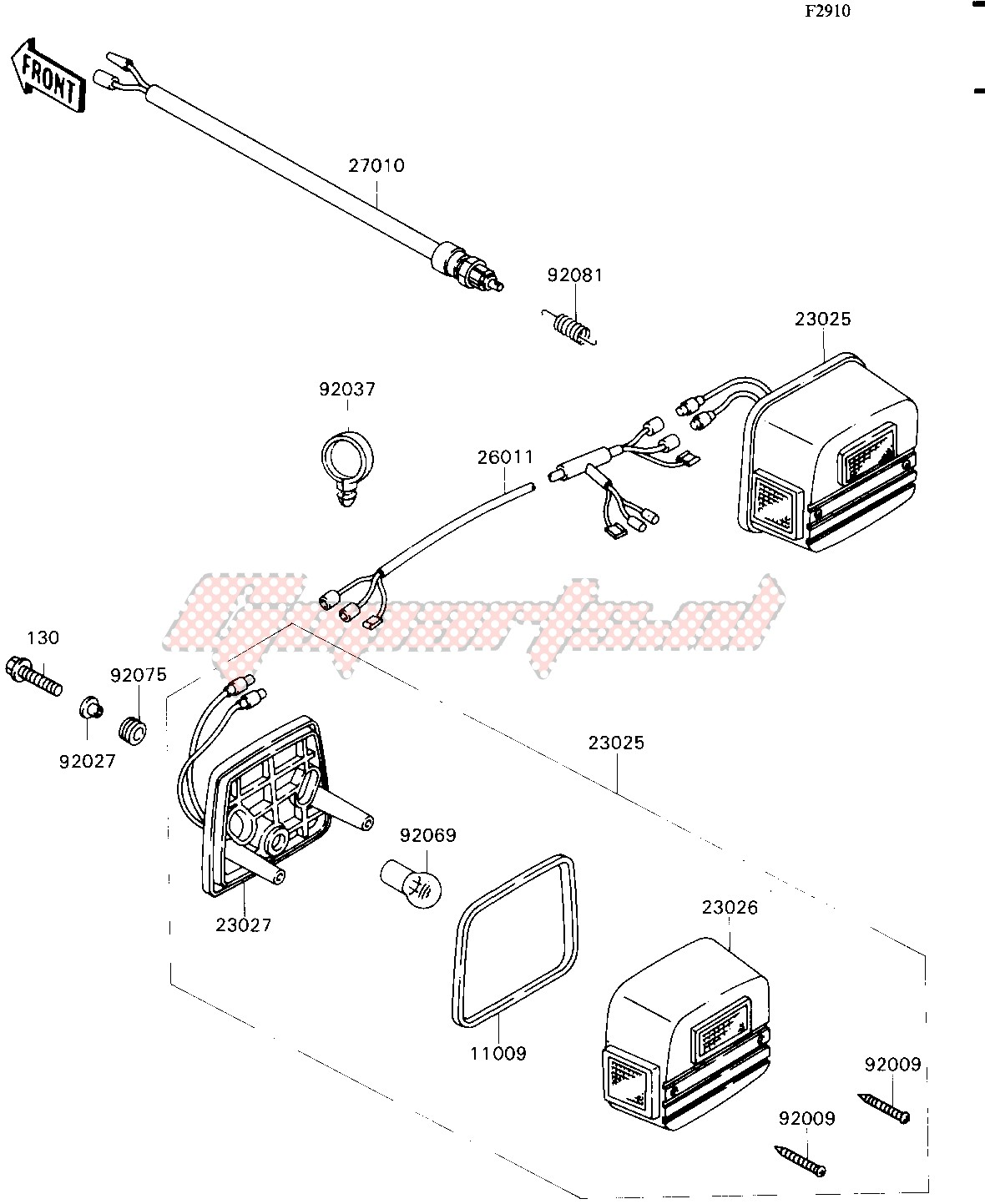ACCESSORY-- TAIL LAMP- - image