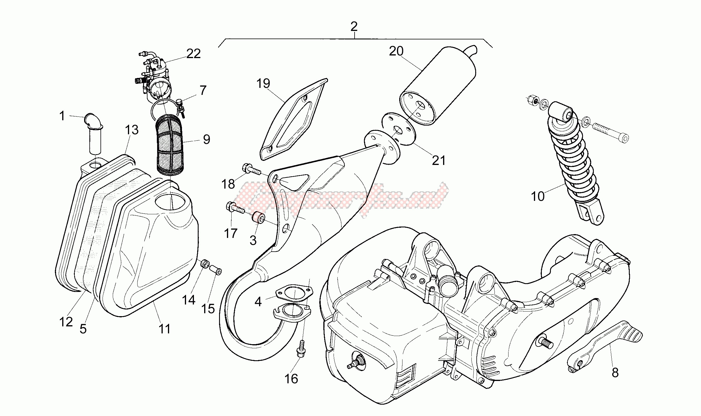 Exhaust unit image