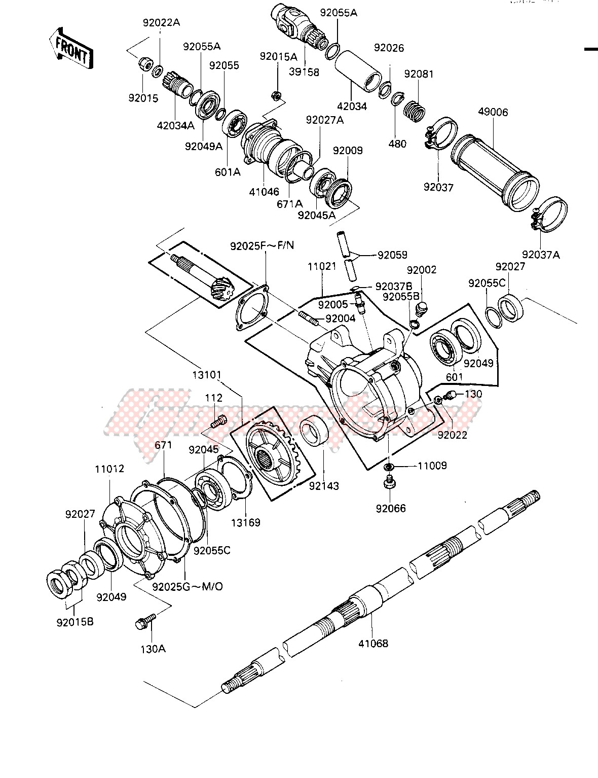 DRIVE SHAFT_FINAL GEARS image