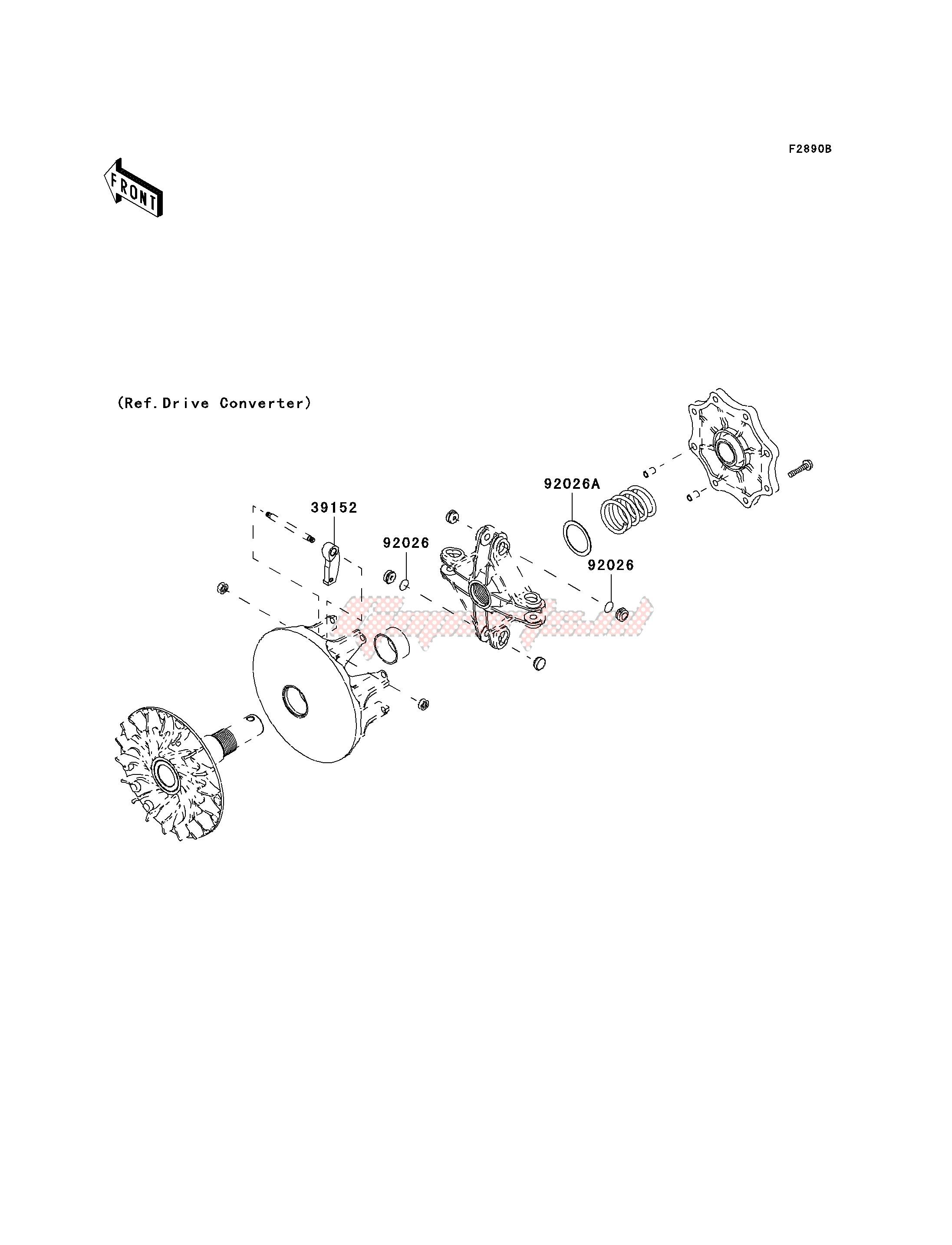 OPTIONAL PARTS-- DRIVE CONVERTER- - image