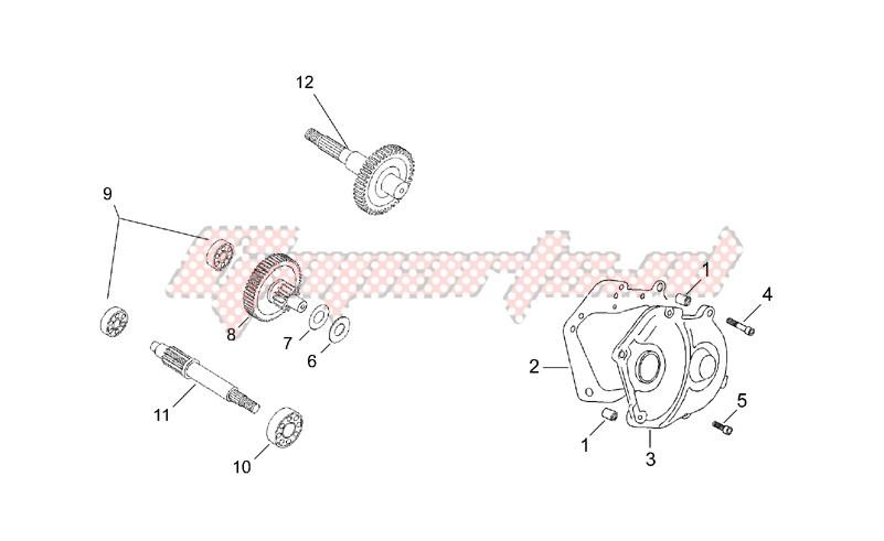 Transmission final drive image